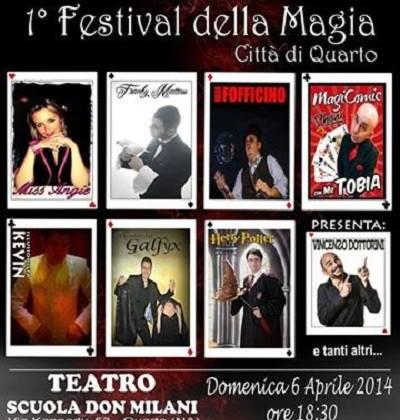 FESTIVAL DELLA MAGIA 2014